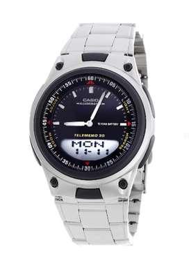 Reloj Casio Caballero Ref Aw-80d-1a Anál