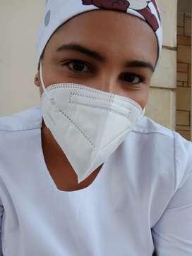 Ofresco mis servicios como enfermera  al cuidado  de adulto mayor