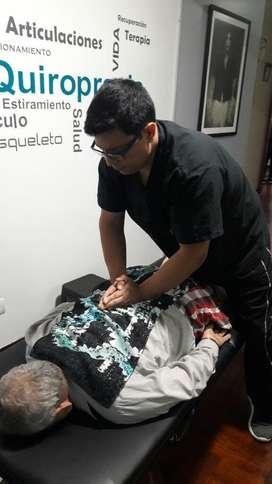Quiropractico Quiromasajes Terapias