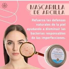 Mascarilla de Arcilla Class Gold