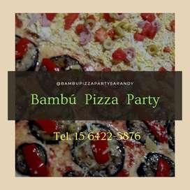 Pizza Party, Picadas,barra movil