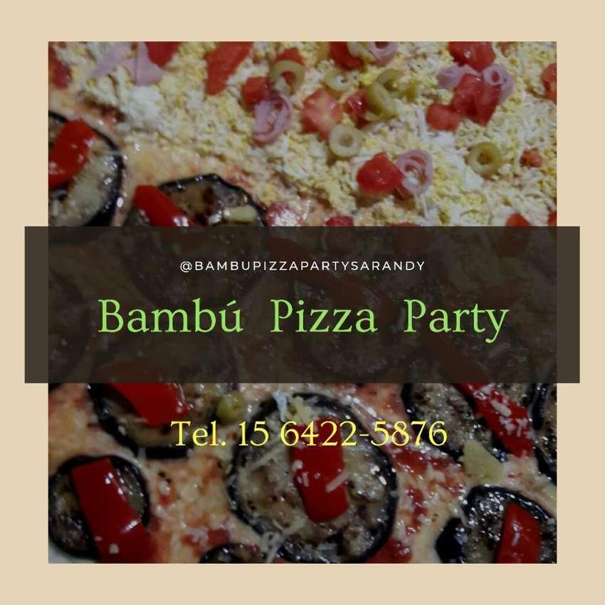 Pizza Party, Picadas,barra movil 0