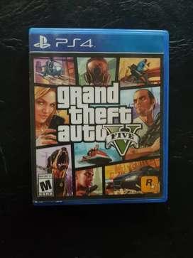 Vendo GTA V para PS4