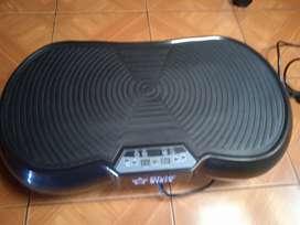 Plataforma vibratoria con bandas