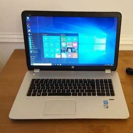 Laptop Hp 17.3 Tactil Core I7 16gb Ram 128gb Ssd + 1tb Hdd