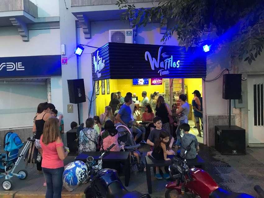 VENDO FONDO DE COMERCIO WAFFLES 0