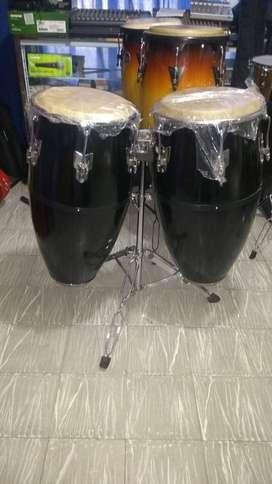Congas en Fibra Percusión con base