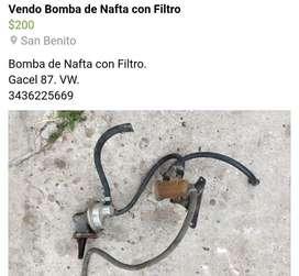 Vendo Bomba de Combustible con Filtro