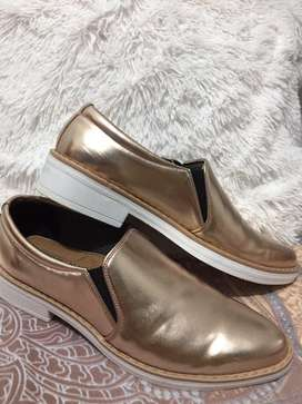 Zapatos rose gold