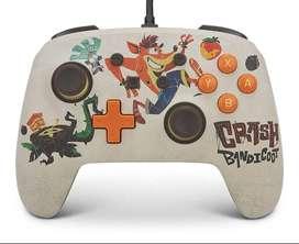 Control Nintendo Switch Pc Powera Crash 4: It's About Time