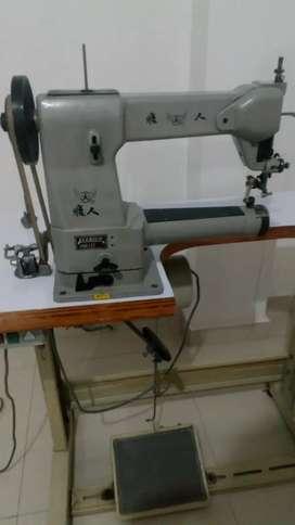 Máquina de coser calzado.