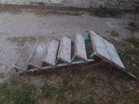 Escalera de metal