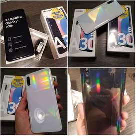 Samsung A30S de 64 en color blanco y negro nuevos