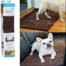 Tapete Mascota limpiador super absorbente limpia felpudo Clean Perro
