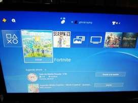 Play 4 como nueva con 4 juegos digitales y una palanca nueva