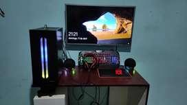 Computadora y periféricos 440$ (solo cpu 400, y periféricos 40$,no incluye monitor)