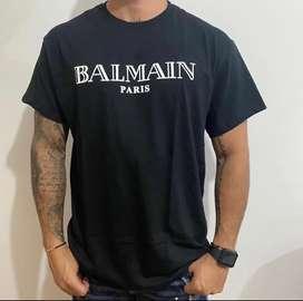 Camiseta balmain algodon