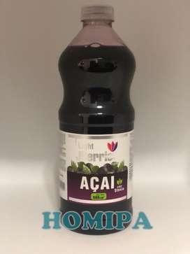 Jugo De Acai X 1.5 L. Con Stevia Sin Azucar Promocion