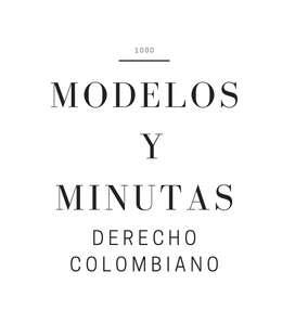 Pack de modelos y minutas en derecho