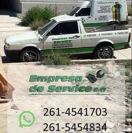 Empresa de Service s.a / plomeria cloacas y Destapes