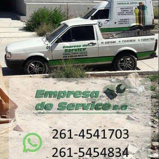Empresa de Service s.a / plomeria cloacas y Destapes 0