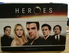 Saga Completa Hereos (serie Universal)
