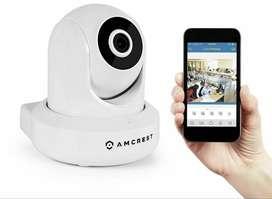 camara wifi seguridad Amcrest ultrahd 2k doble banda 2.4g y 5g