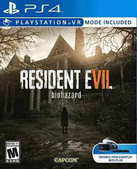 Resident Evil 7 Biohazard Playstation 4 Ps4, Físico