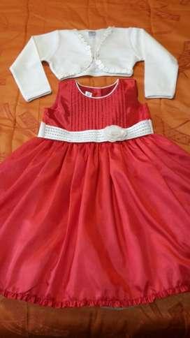 Vestido Y Bolero para Niña