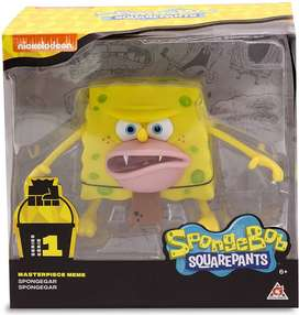 Bob Esponja Figura Meme Cavernicola Nuevo Ya Spongegar
