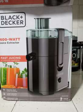 Extractor de jugos black -decker