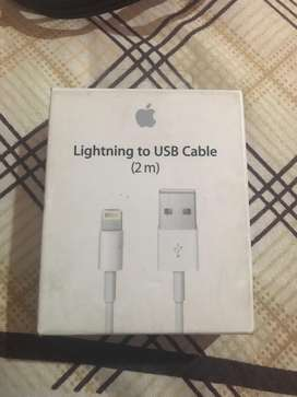 Cable lightning apple  2 metros