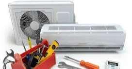 Se hace todo tipo de mantenimientos de aires acondicionados