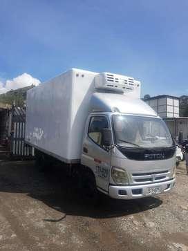 Camion carga refrigerada