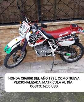 Vendo moto Honda XR600R