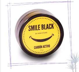 Carbón activado para dientes y zonas oscuras