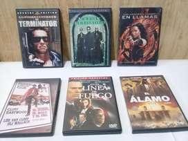 VIDEOS DVDS DE AFAMADAS PELICULAS