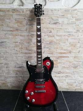 Guitarra eléctrica Urban modelo les Paul zurda nueva