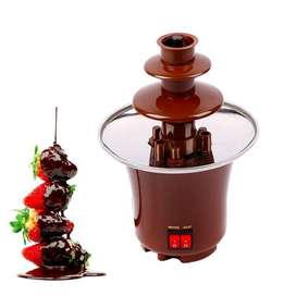 Fuente De Chocolate Mini De 3 Niveles Fondue Fountain Cacera