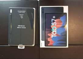 Tablet Samsung Galaxy Tab S7+ Nueva Con Teclado