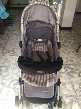 Coche para bebé en buen estado marca e-baby