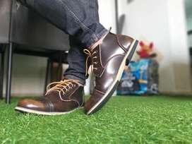 Zapatos bota puro cuero importados