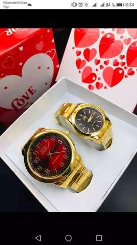 Hermoso reloj de pareja