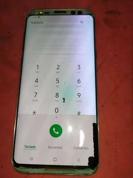 Vendo Samsung s8 plus únicamente cambio de display