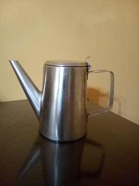 CAFETERA DE ACERO INOXIDABLE