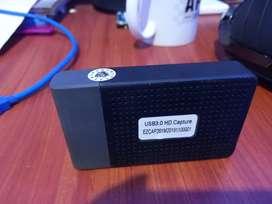 Capturadora de video ezcap HDMI 1080p 60FPS