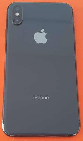 Iphone X 64 GB Color gris espacial/Tamaño de pantalla 5.8¨/Rendimiento de Batería 76%