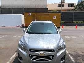 Vendo Camioneta Chevrolet Tracker 2016