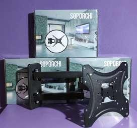 "SOPORTE MOVIL  TV LCD LED REFORZADO 32 A 75"""