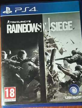 Rainbow Six Siege Físico (abierto) sin uso!!